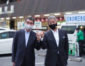 河野太郎・岩屋たけし街頭演説会